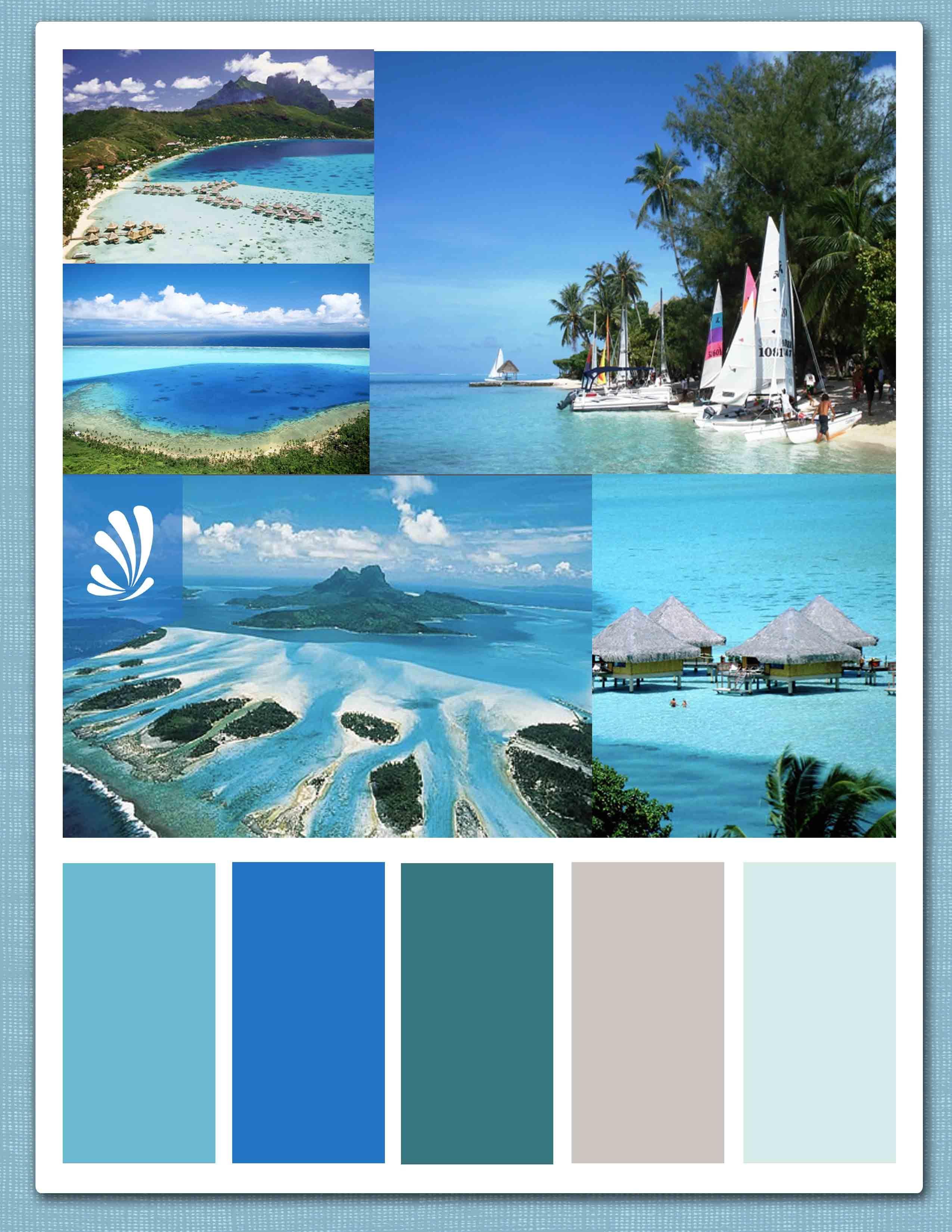 Other Collectible Ads Capable Aeva Beach Hotel Tahiti ' International Hotel's Sticker Advertising