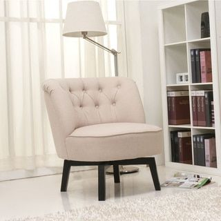 Shop for Gold Sparrow Raleigh Beige Swivel Chair. Get free ...