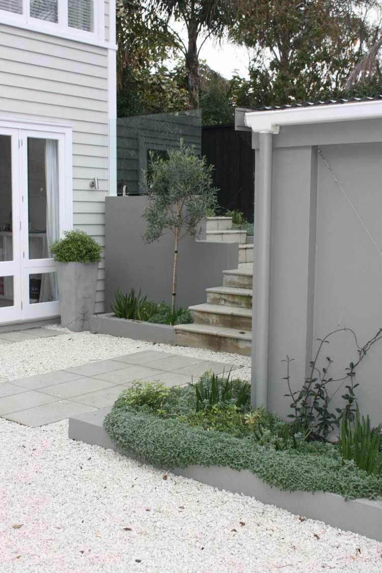 Gravier blanc pour le jardin: astuces et idées déco | Gardens