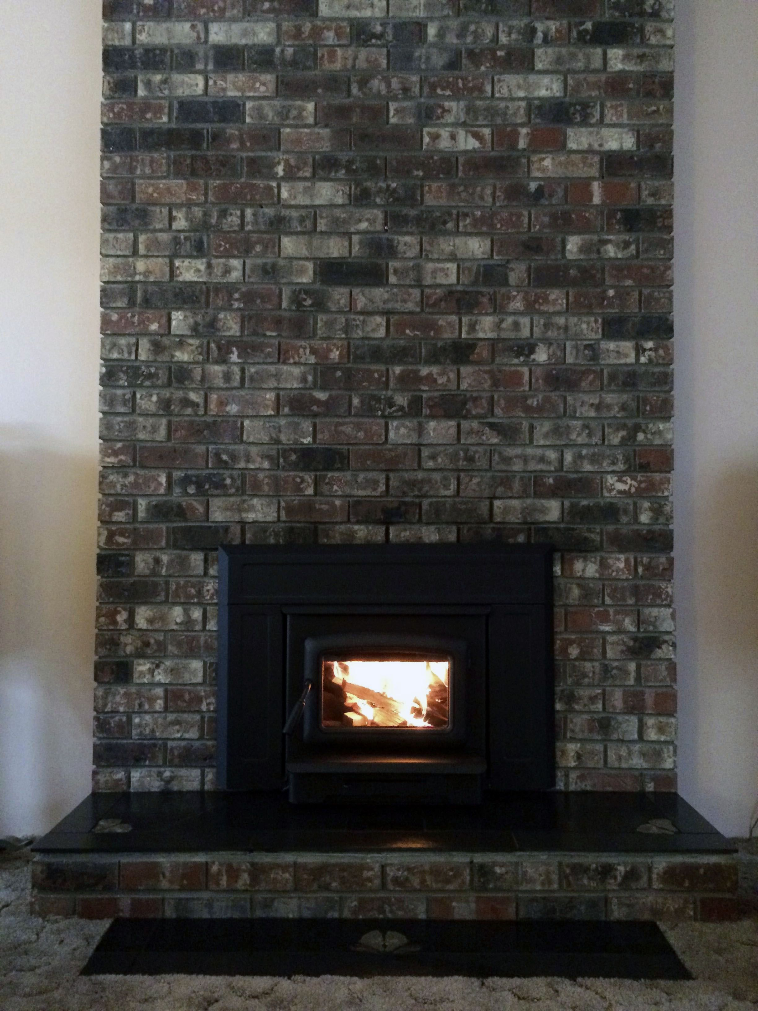 Image Result For Black Wash Brick Fireplace Brick Fireplace White Wash Brick Fireplace Fireplace