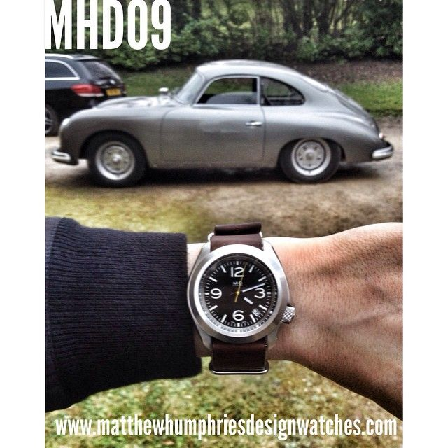 Last #porsche 356 shot. I promise. #MHD #mhdwatches #watches #design #custom #outlaw www.matthewhumphriesdesignwatches.com