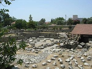 The Mausoleum Site In Ruins Today Seven Wonders Mausoleum At