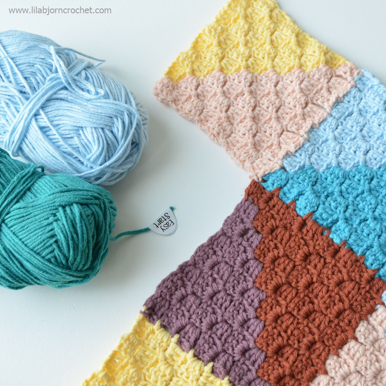 Having Fun with C2C crochet | Pinterest | Häkelmuster, Muster und ...