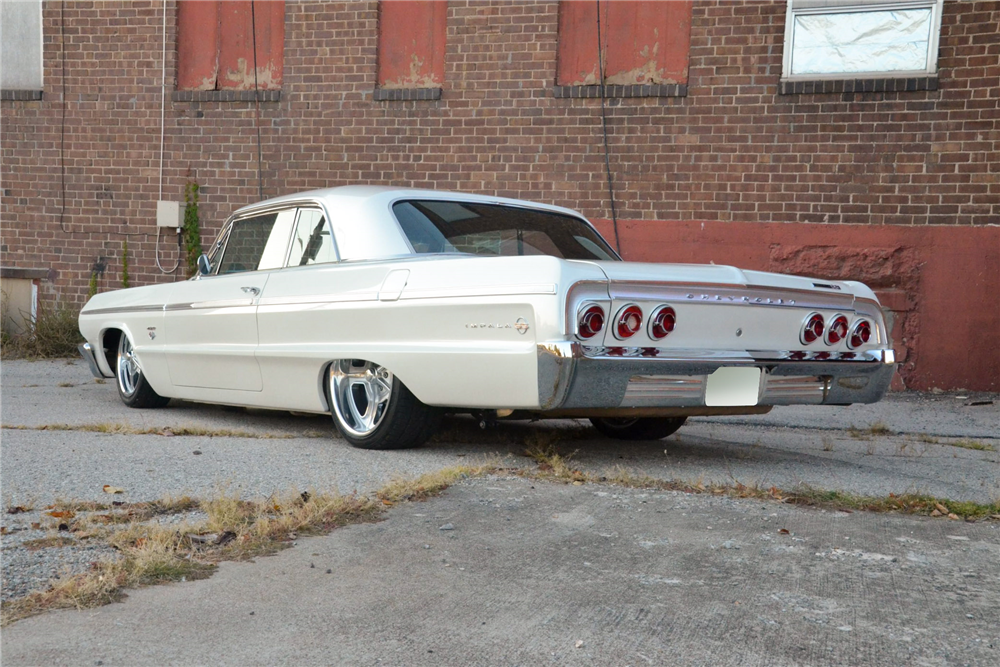 1964 Chevrolet Impala Custom Hardtop Rear 3 4 189291