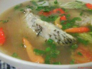 Resep Masakan Sup Ikan Gurame Menu Mantab Sup Ikan Resep Sup Resep