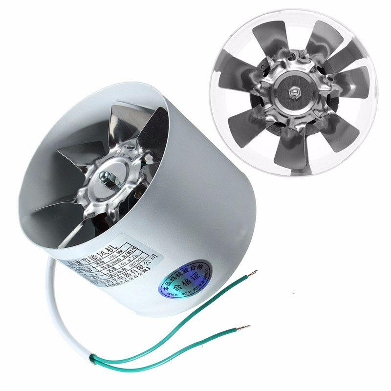 2800r Min Conduit Booster Vent Fan De Metal 220 V 20 W 4 Pouce Inline Conduits Ventilateur D Fan Accessories Ventilation Fan Kitchen Ventilation Fan