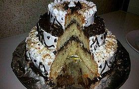 تحضير كيكة ديال الافراح اعياد الميلاد و المناسبات بالصور Food Cake Desserts