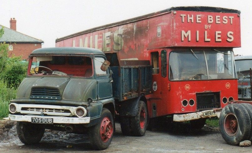 Ford Thames Trader Abandoned Cars Old Lorries Classic Trucks