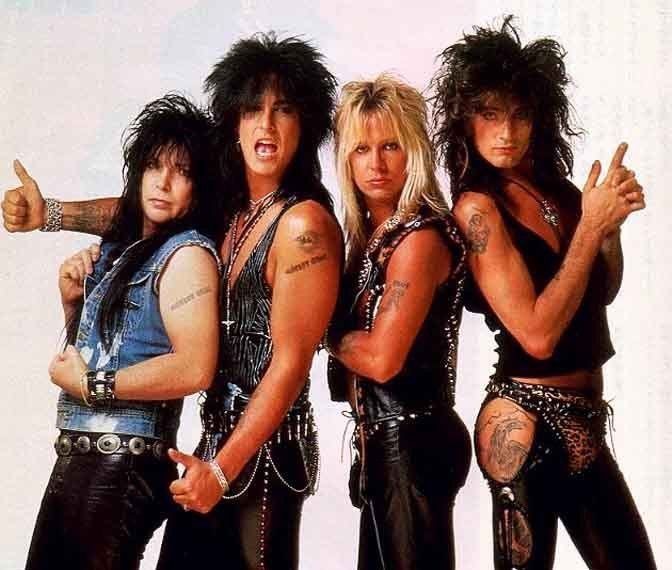 Robert A. Deal, Frank C. Ferrana Jr., Vincent N. Wharton and Thomas L. Bass, better known as Mick Mars, Nikki Sixx, Vince Neil and Tommy Lee of Mötley Crüe.