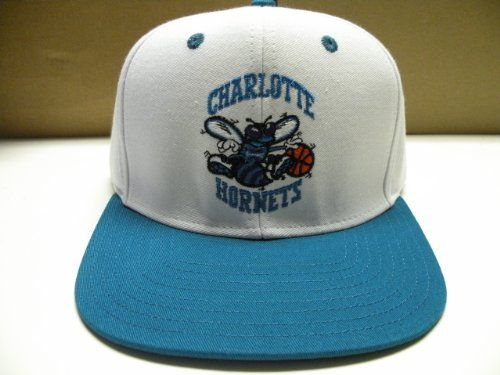 buy popular a5190 546b5 NBA Charlotte Hornets White 2 Tone Snapback Cap Retro by adidas. Save 62  Off! Visit