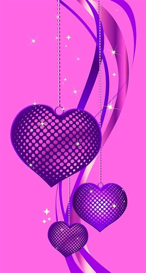 Images By Arissam Braquel On PINK | Heart Wallpaper, Purple