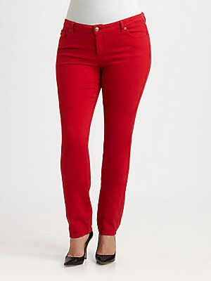 MICHAEL MICHAEL KORS, Salon Z Colored Skinny Jeans