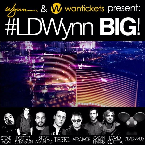 #LDWynn ALL-ACCESS passes for you + 3 friends to ANY AND ALL of the shows @xslasvegas @surrendervegas @trystnightclub @encorebeachclub this #LDW http://on.fb.me/OISVLB