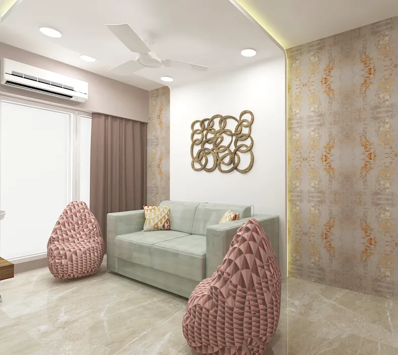 4bhk Residence Goregaon By Space Design Studios In 2020 Modern Style Bedroom Bedroom Design Space Design