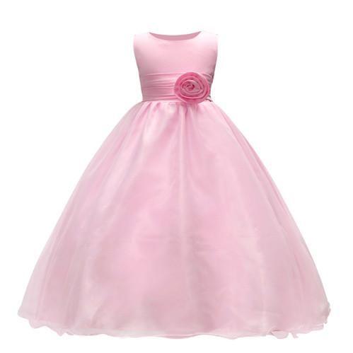 95b8b80ebd New dress baby girl dress kids clothes cute girl wedding children girl  princess dress evening dresses