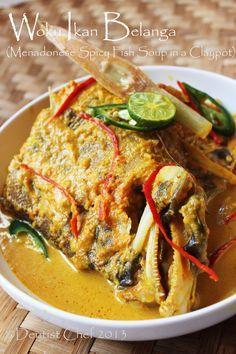 Resep Woku Ikan Belanga Khas Manado Manadonese Spicy Fish Curry Soup Resep Masakan Indonesia Resep Masakan Makanan Dan Minuman
