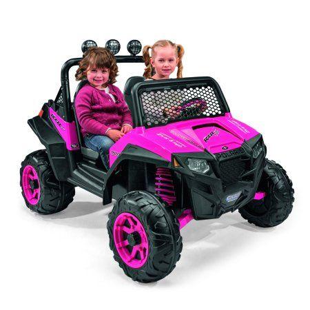 Peg Perego Polaris Ranger Rzr 900 12 Volt Battery Powered Ride On Pink Criancas Carros E Bonecas