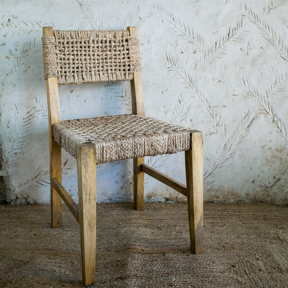 Great Pali Jute Dining Chair || We Love The Rustic Simplicity Of These Handmade  Jute Dining