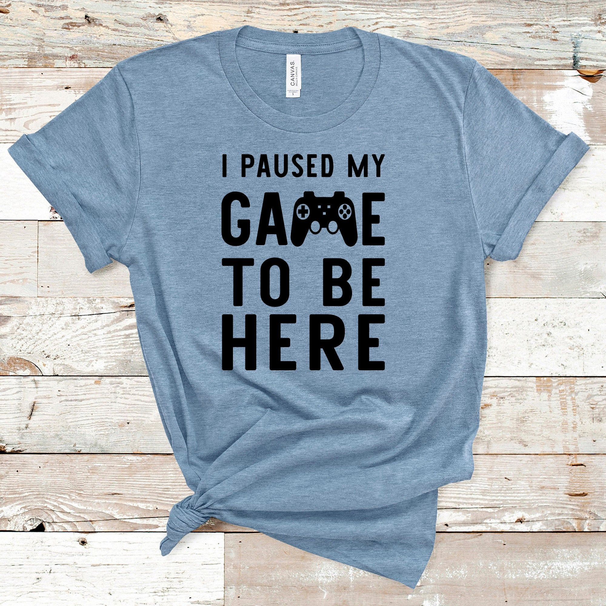 Download I Paused My Game To Be Here Svg, Gaming Svg, Game ...