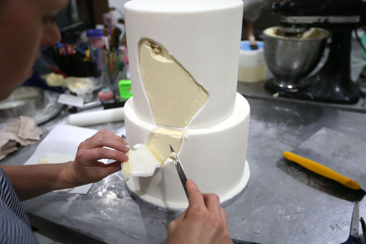 Geode Wedding Cake Lessons From A Toronto Bake Shop Gems