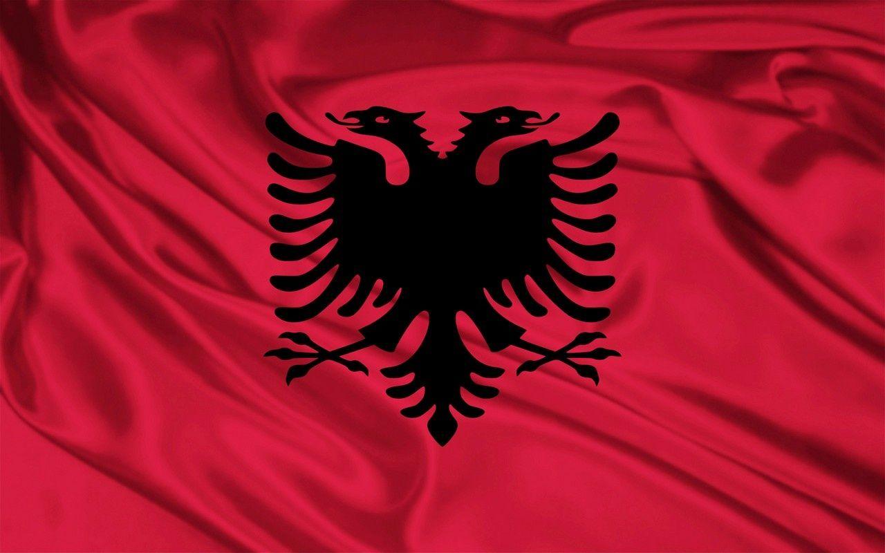 Albanian Flag Albanian Flag Albania Flag Flags Of The World