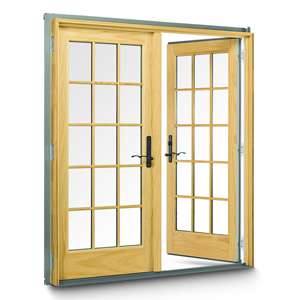 Anderson 400 Series Frenchwood Hinged Patio Door Remodelista Hinged Patio Doors Patio Doors Wood Doors Interior