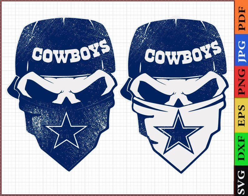 Dallas skull svg, girl loves Dallas, Cowboys girls svg