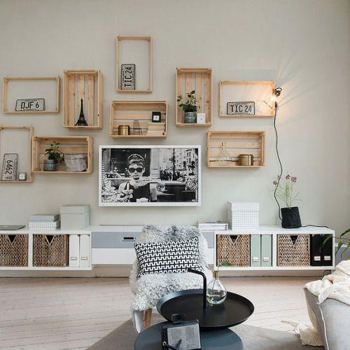 rangement salon nordique - Recherche Google