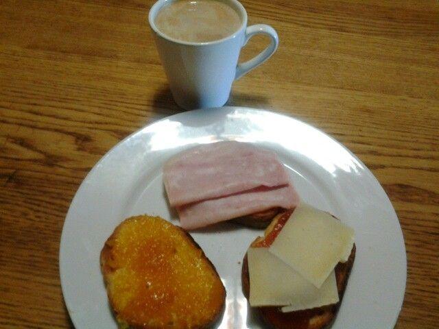 Menu esmorçar..