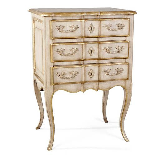 Roosevelt 3 Drawer Chest in Creme by French Market Collection