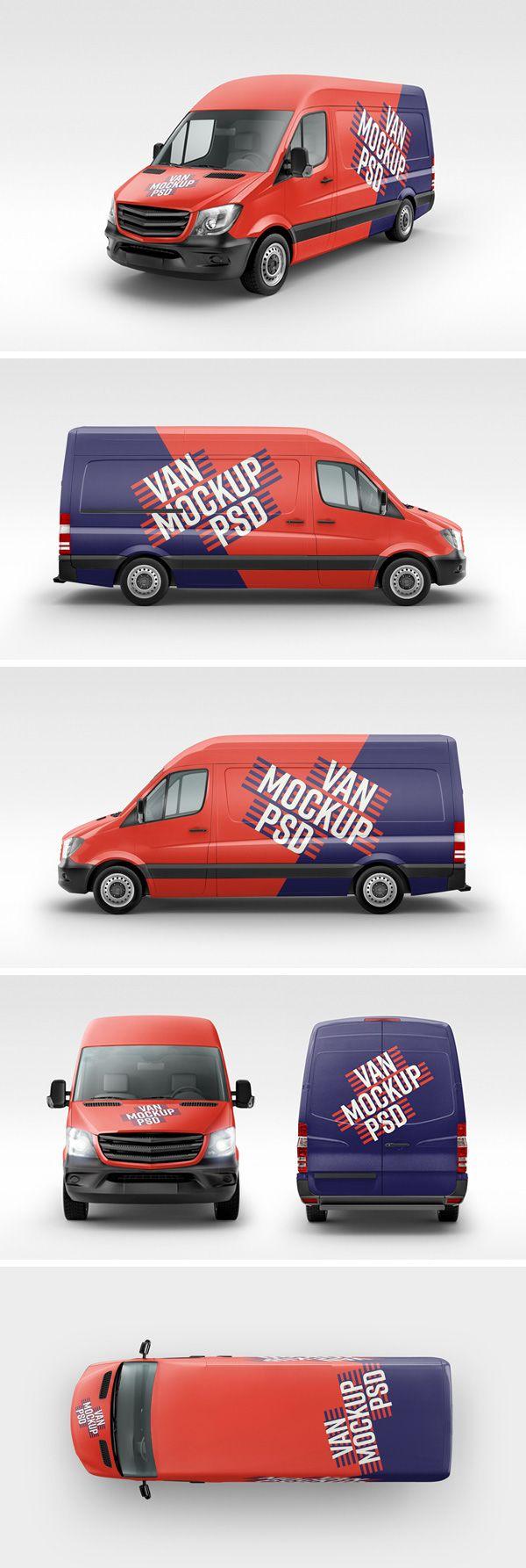 31+ Best Car, Truck & Van Mockups PSD (Free & Premium