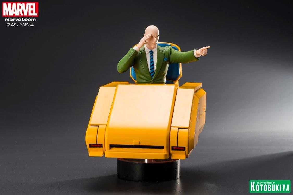 Marvel Universe X Men 92 Series Professor X Artfx Statue Coming Soon With Images Professor X X Men Marvel