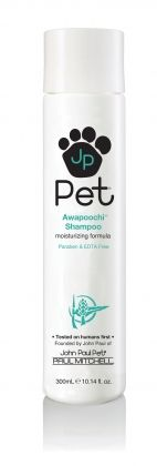 Dog Products - Conditioner - Awapoochi Conditioning Rinse - Our most moisturizing conditioner formulation with Hawaiian Awapuhi adds more moisture, shine and luster to your dog's coat. This newest formulation is Paraben and EDTA-free which means it's also more gentle for your pets. The mild botanical fragrance is also less irritating to pets with sensitive skin or allergies.