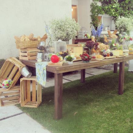 Mesa de quesos estilo campirana decoracion pinterest - Mesa de quesos para bodas ...