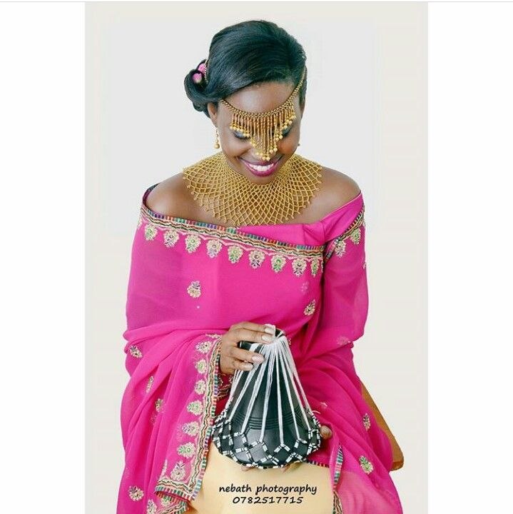 Bride Ankole Culture African Bride African Traditional Wedding African Fashion