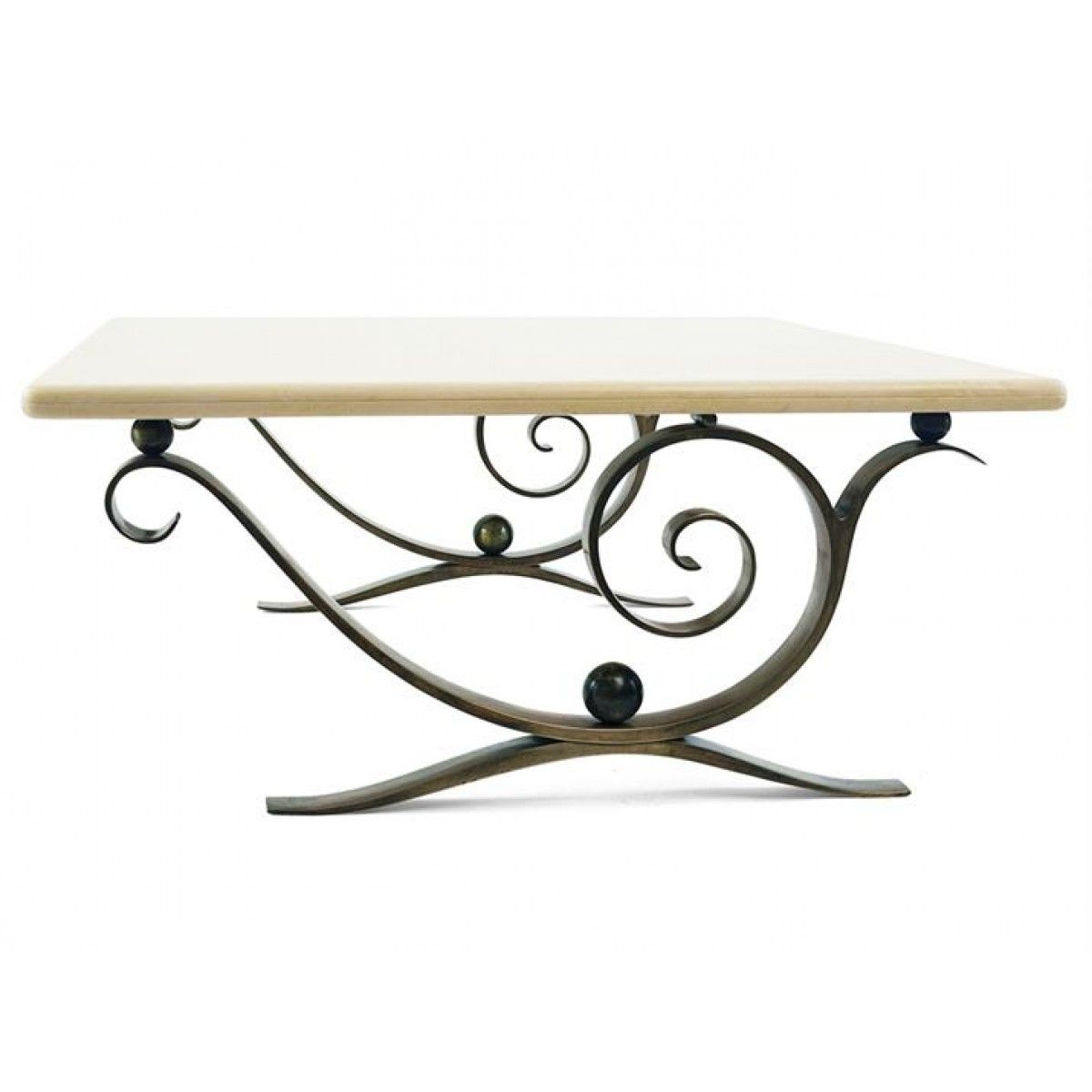 Villiers Brothers Aegean Coffee Table Iron Coffee Table Iron