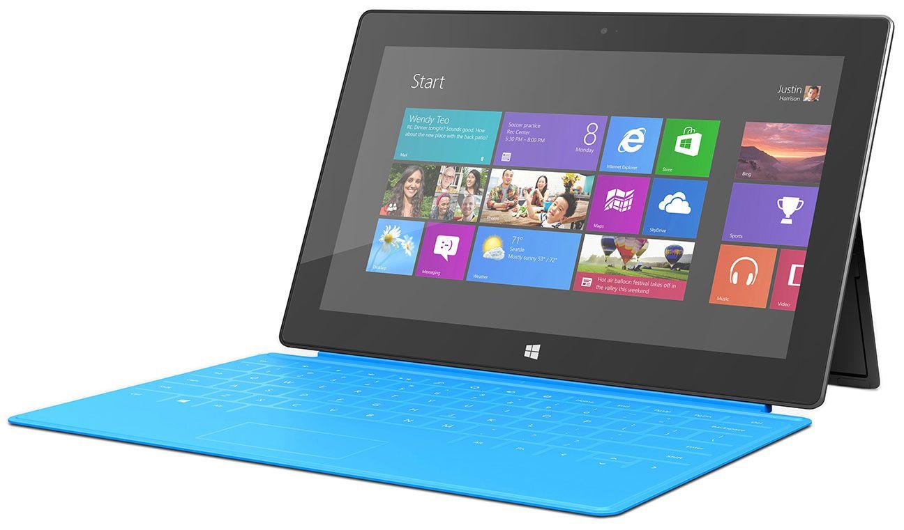 Microsoft Surface With Windows Rt Microsoft Surface Rt Windows Surface Surface Rt