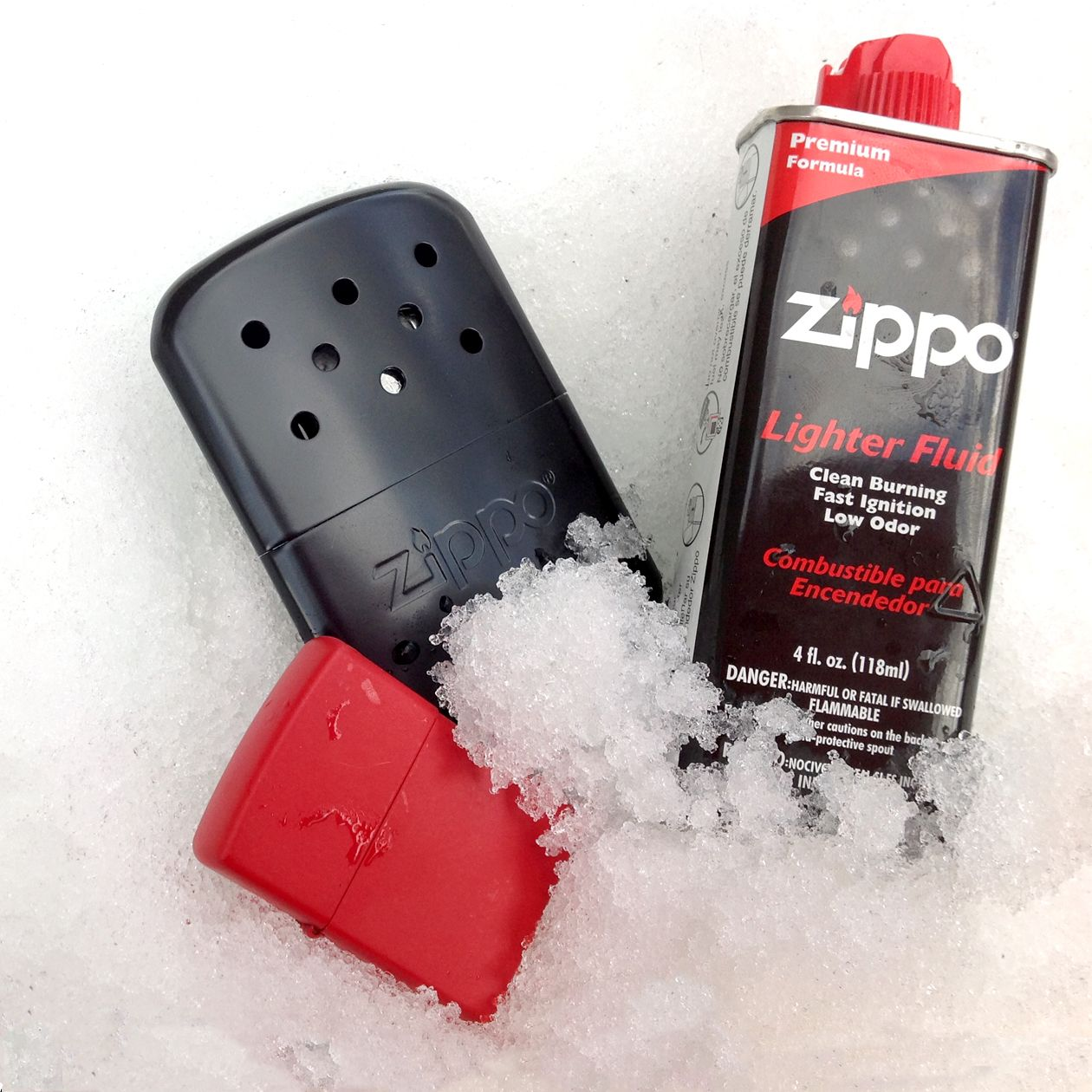 how to fill a zippo lighter with fuel