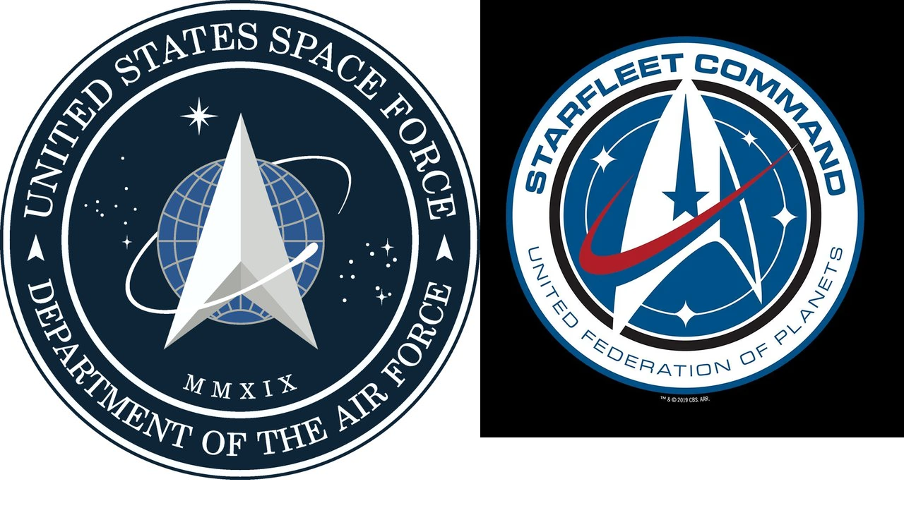The logo for the new US Space Force is almost identical to