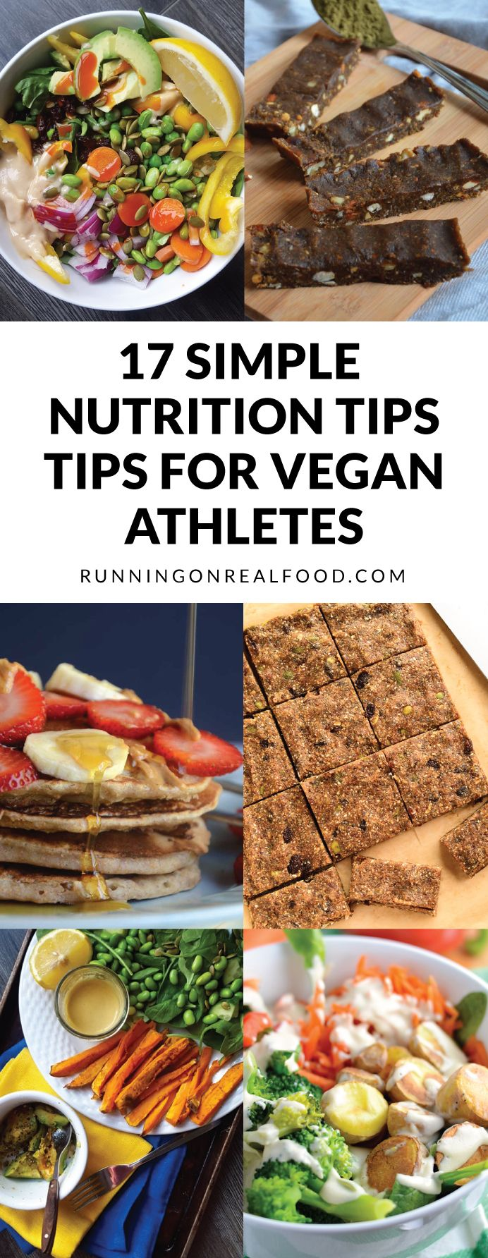 17 Simple Nutrition Tips For Vegan Athletes Simple Nutrition Nutrition Recipes Plant Based Eating