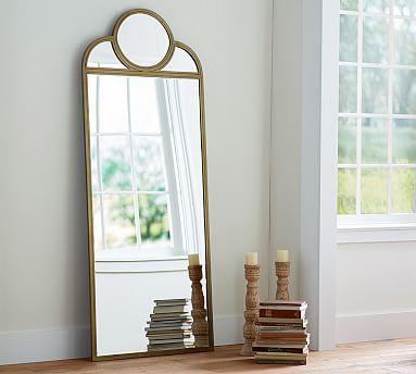 Jensen Floor Mirror Oversized Floor Mirror Floor Mirror Gold Floor Mirror
