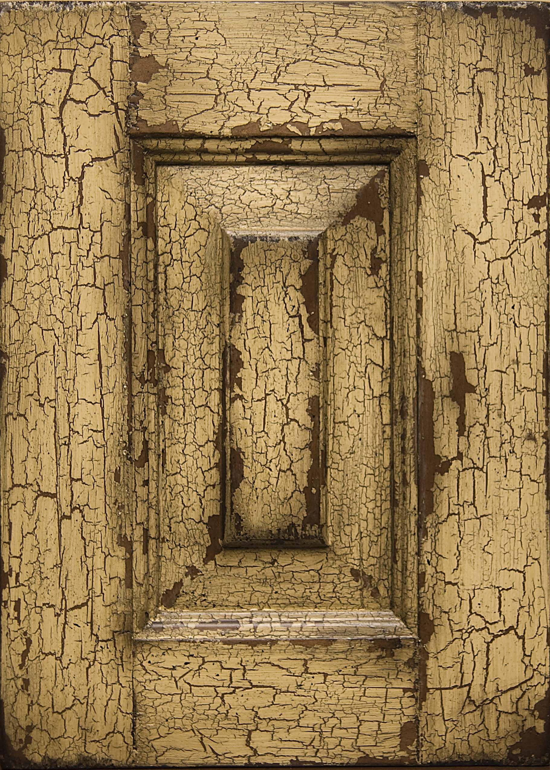 Vintage Weathered Desert Crackle Finish Crackle