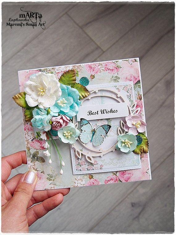 Handmade Happy Birthday Birthday Card 3d Greeting Card White