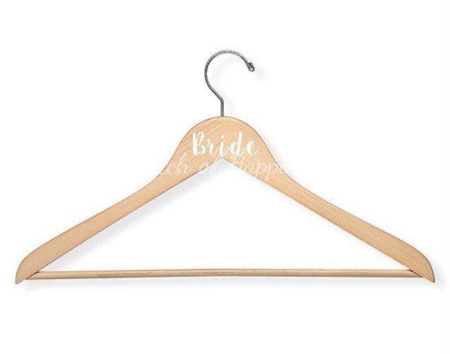 Wedding Hanger Decals DIY Vinyl Wedding Party Decals - Diy vinyl wedding hangers