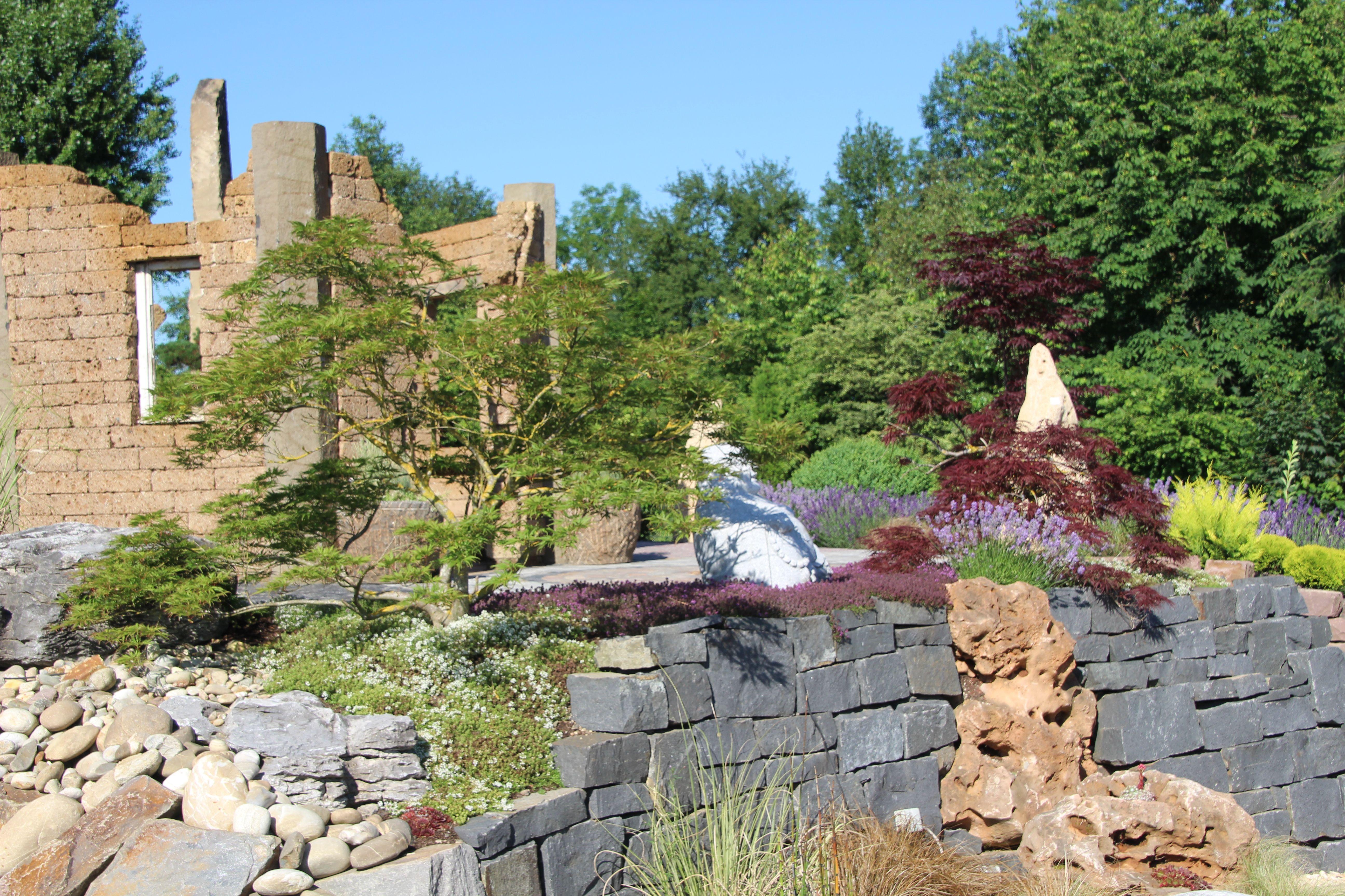 garten ▫ terrasse ▫ außengestaltung ▫ dekoideen ▫ trockenmauer