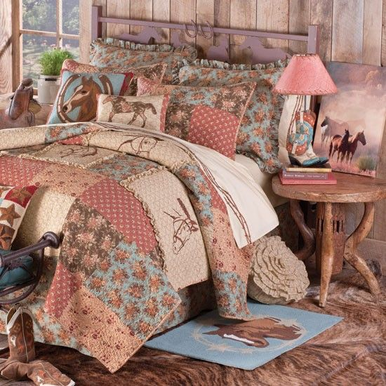 Cowgirl Theme Bedding And Room Decor. Country Girl ...