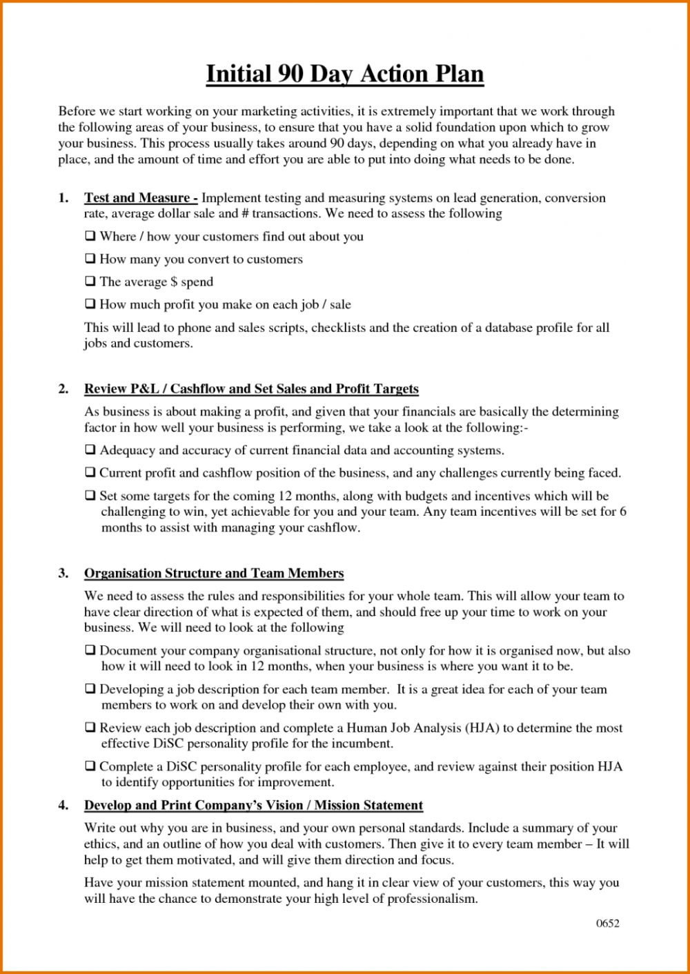 day business plan template action plantemplate info within