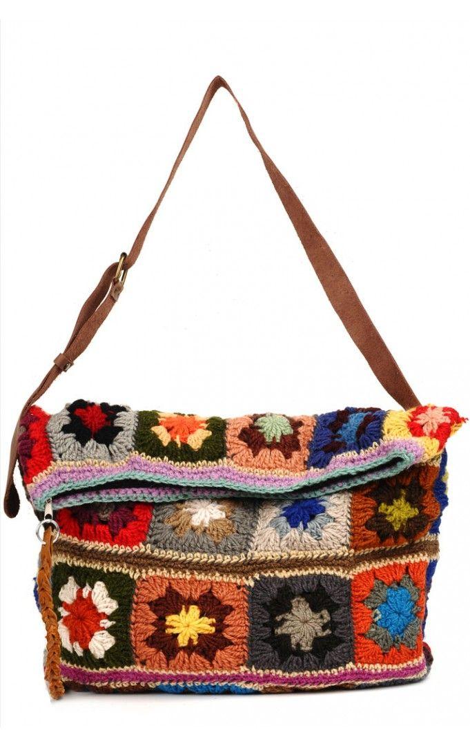 crochet bag … | CROCHET GRANNY SQUARES HELLO AGAIN | Pinte…
