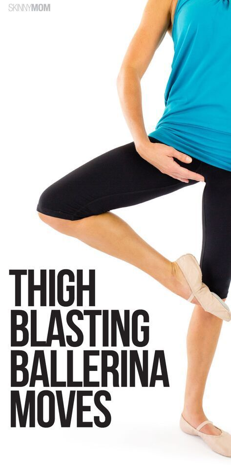 Embrace your inner ballerina with this barre workout for toned thighs!  #barreworkout #lowerbodywork...
