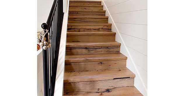 relooker un escalier avec des palettes bois meubles en. Black Bedroom Furniture Sets. Home Design Ideas